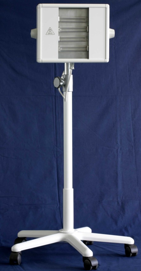 Varia - аппарат для ультрафиолетвой терапии компании Saalmann